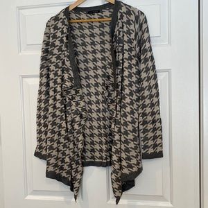 Staccato Houndstooth Cardigan
